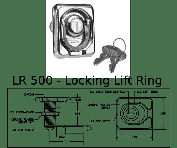 LR 500 Marine Hardware