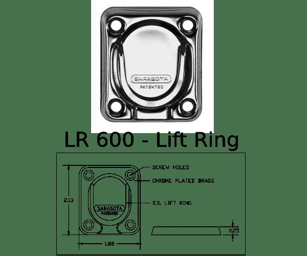LR 600 Marine Hardware