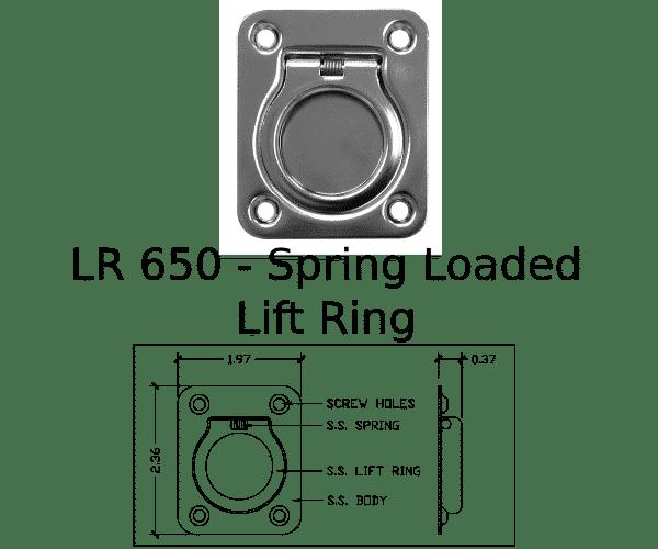 LR 650 Marine Hardware