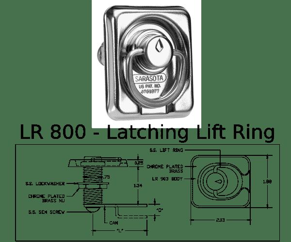 LR 800 Marine Hardware