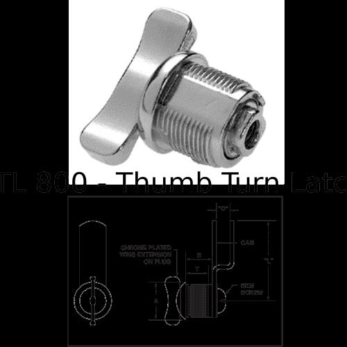 TL 800 Thumb Turn Latch