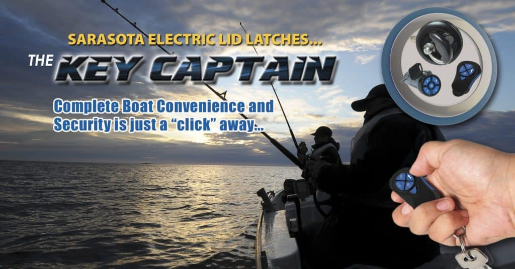Key Captain Electronic Locking System for boats and recreational vehicles
