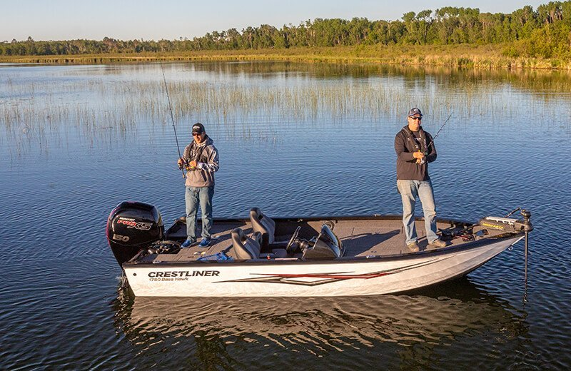 best bass boats, Crestliner boat, Sarasota Quality Products